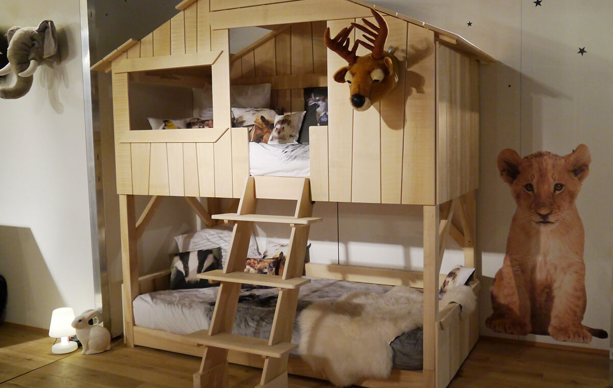 Creative and Playful Kids' Beds