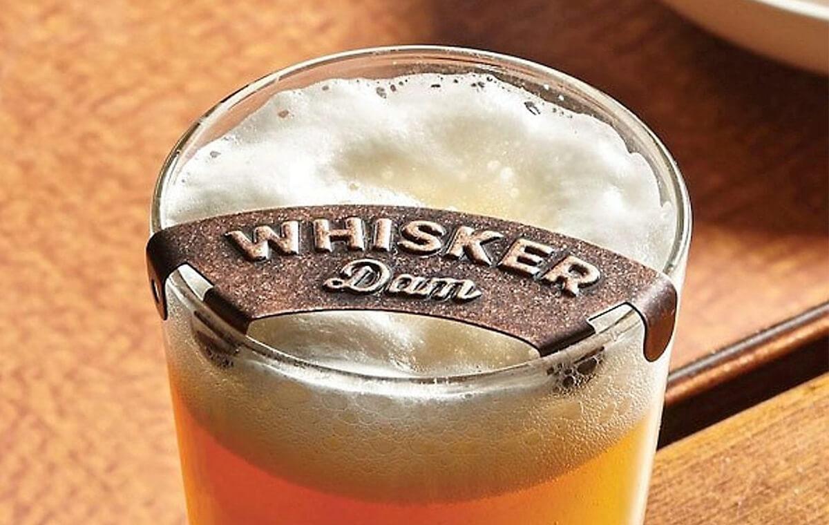 Whisker Dam: Keep Your Mustache Free of Beer Foam