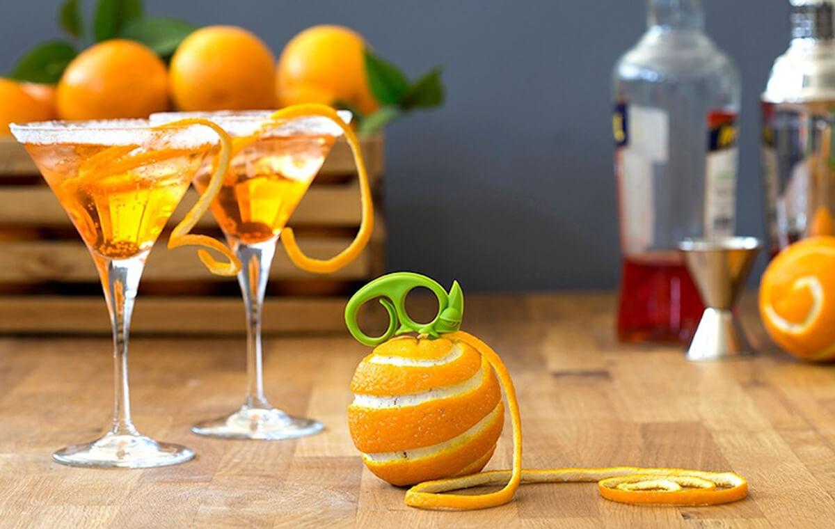 2-in-1 Citrus Zester and Peeler