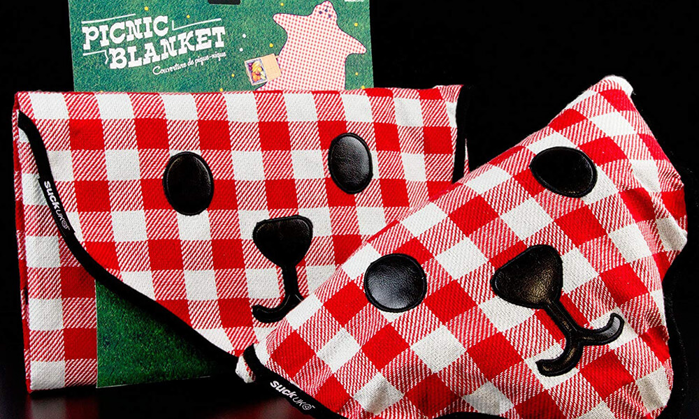 Bear Skin Picnic Blanket, Perfect Product for Who Love to Lounge Outdoors