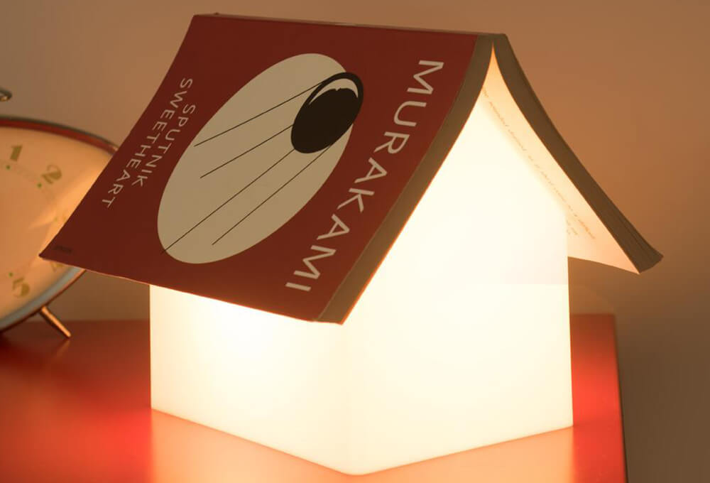 Book Rest Lamp Helps You Never Lost Your Page Again