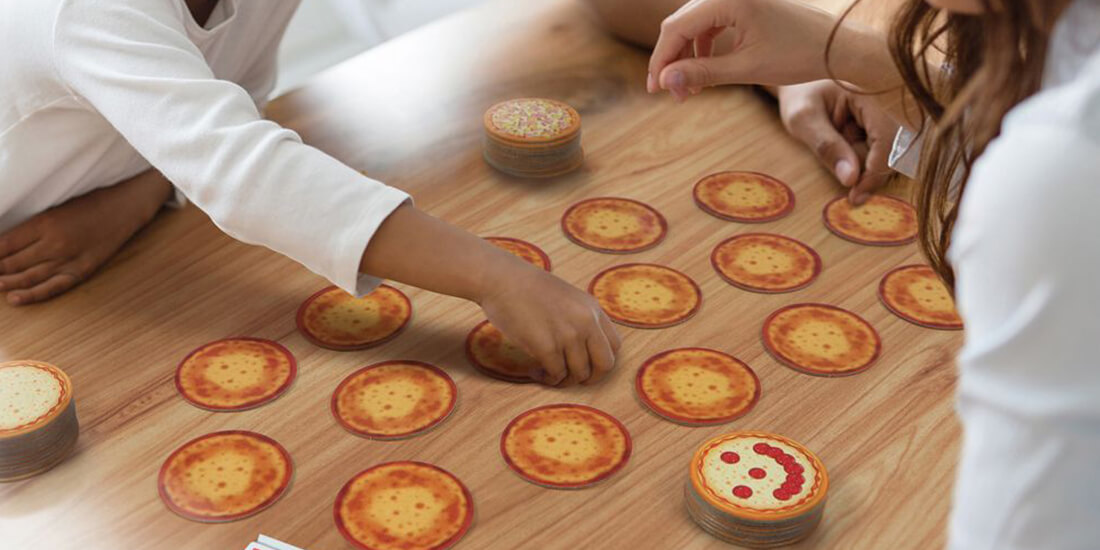 Pizza Memory Card Game