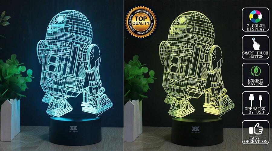 3D Star War LED Night Light