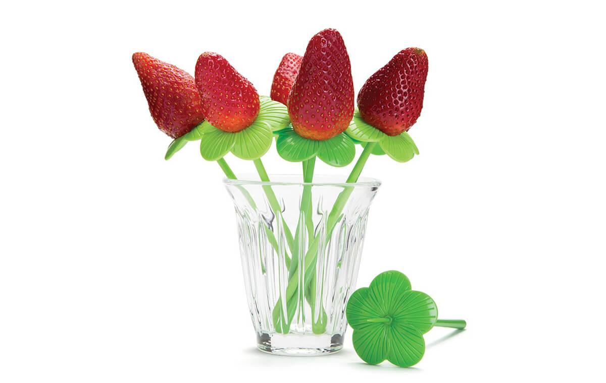 Blossom: Floral Shape Food Picks