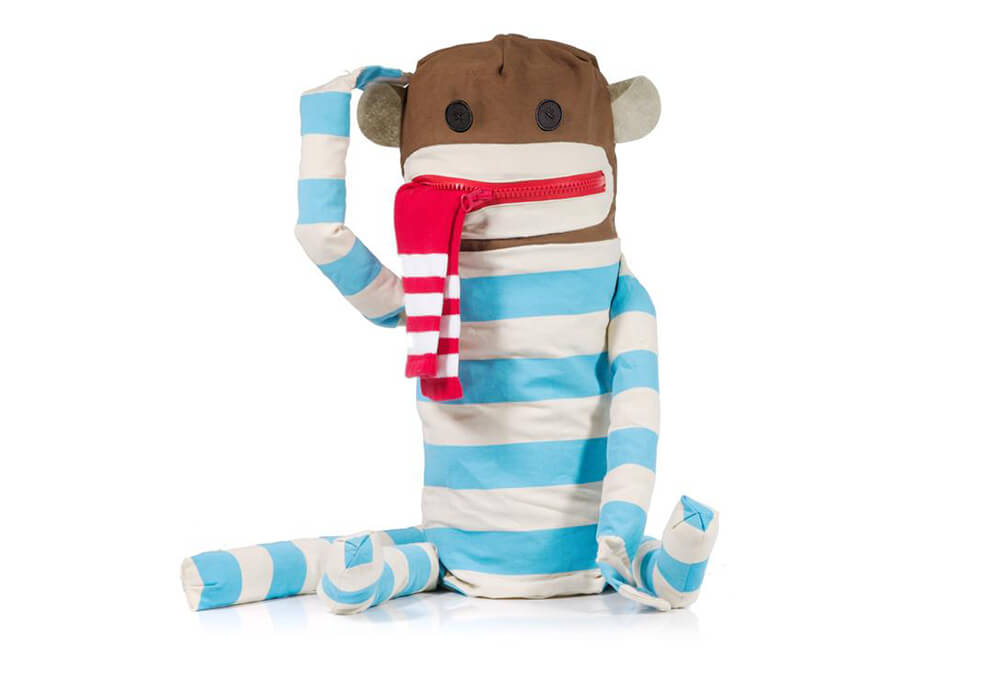 Probably The Most Adorable Laundry Bag - Sock Monkey