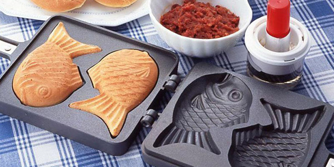 Taiyaki Pan Fish shape