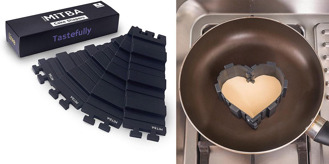 Flexible Silicone Strips Allows You Bake Any Shape