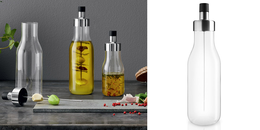 Stylish Oil and Vinegar Flavor Infusion Carafe