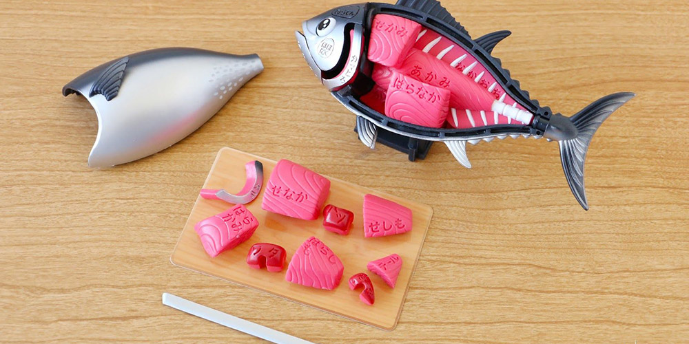 Novel Tuna Demolition Puzzle