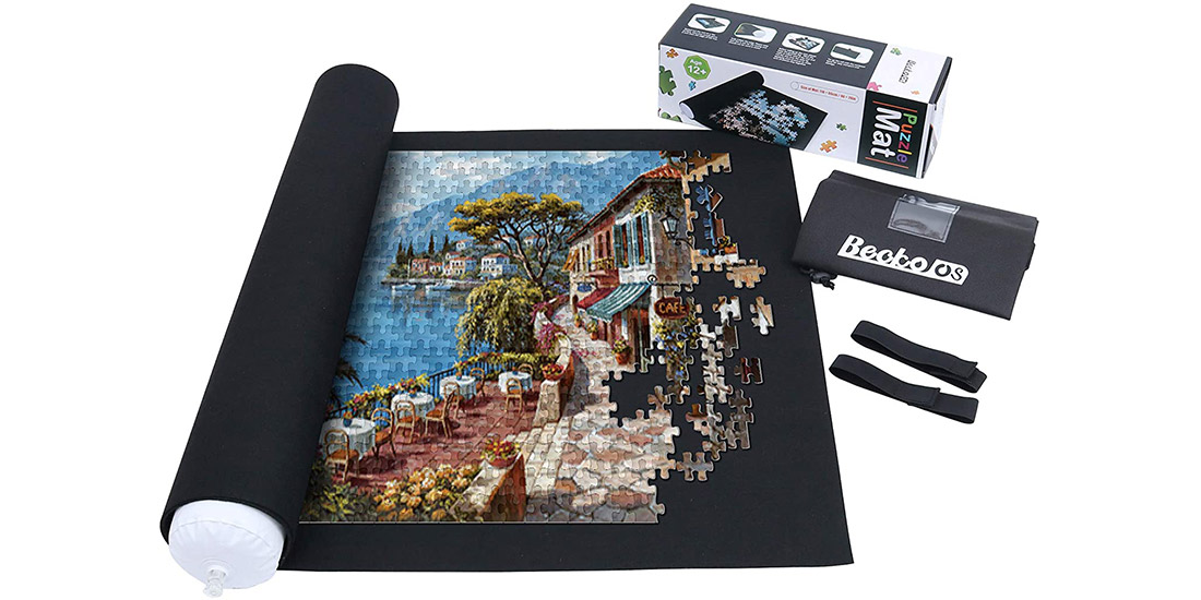 Puzzle Saver: Roll Up Jigsaw Puzzle Storage Mat
