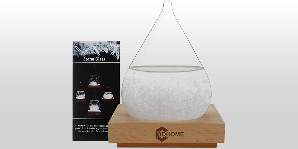 Storm Glass: Creative Weather Predictor