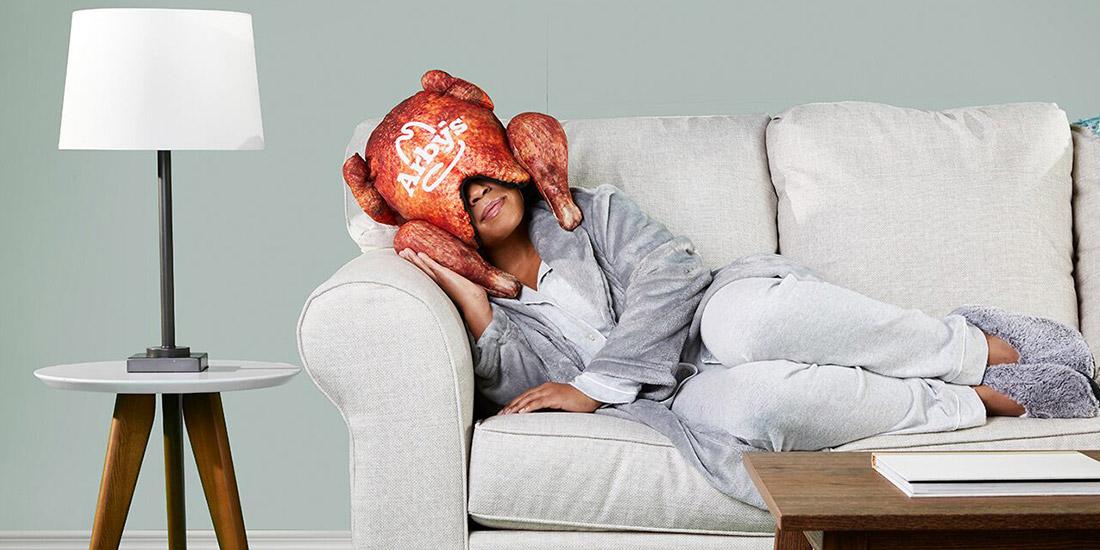 Eat Turkey, Sleep Incredible: Arby's Turkey Pillow